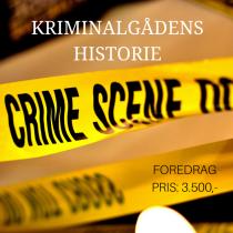 Kriminalgådens historie