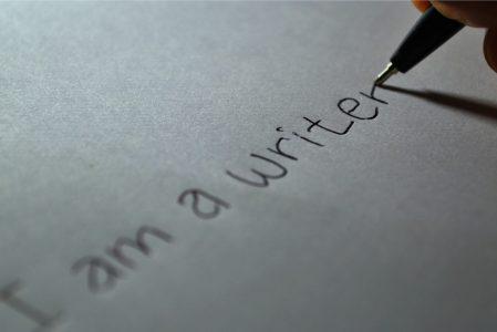 Det man skriver er man selv