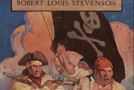 Robert Louis Stevenson og klassikeren Skatteøen