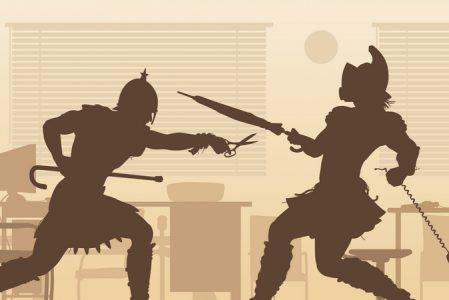 Kontorets gladiatorer