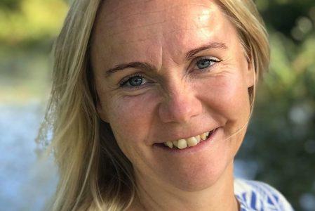 Forfatteren Anne Møller-Johansen