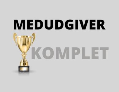 MEDUDGIVER KOMPLET