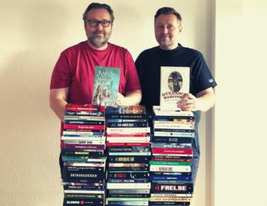 100 bøger på 5 år